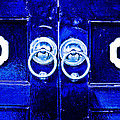 Blue Temple Doors by Joe Carini