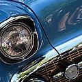 Blue Thunder - Classic Antique Car- Detail by Dora Sofia Caputo Photographic Design and Fine Art