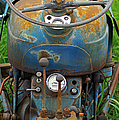 Blue Tractors Driver's Seat by Randy Harris