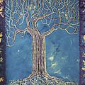 Blue Tree by Alain  Guiguet