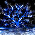 Blue Tree by Joseph Friedel