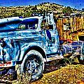 Blue Truck by Jon Berghoff