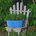Blue Tub by David Arment