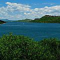 Blue Waters Of Horsetooth Reservoir by Aaron Burrows