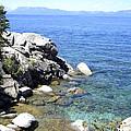 Blue Waters Of Lake Tahoe by Frank Wilson