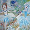 Blueberry Fairies by Judith Desrosiers