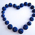 Blueberry Heart by Julia Wilcox