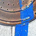 Bluer Sewer One by Marlene Burns