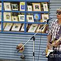 Blues Guitarist by John  Mitchell