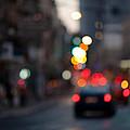 Blurred Traffic Jam by Victor Bezrukov