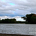 Blustery River  by Susan Herber