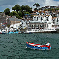 Boat At Brixham by Chris Davis