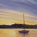 Boat At Rest by Antonia Myatt