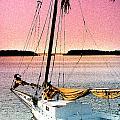 Boat Close by Linda Olsen