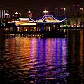 Boat Cruise On Guilin River by Sean Stauffer