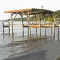 Boat Dock by Adrienne Zulkoski
