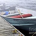Boat In Fog by Elena Elisseeva