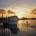 Boat Plastic Sunset  by G Adam Orosco