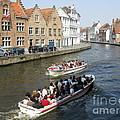 Boat Tours In Brugge Belgium by Ausra Huntington nee Paulauskaite