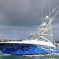 Boat Wrap On Cabo by Carey Chen
