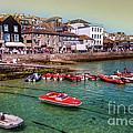 Boats At St Ives  by Rob Hawkins