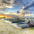 Boats Of Panglao Island by Yhun Suarez