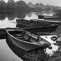 Boats On The Vienne by Debra and Dave Vanderlaan