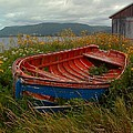 Boats  Shore In Time by William OBrien