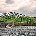Boats Under Bridge by Susan Leggett