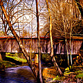 Bob White Covered Bridge by Lisa and Norman  Hall