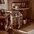 Bodie California Ghost Town Kitchen by Scott McGuire