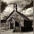 Bodie Church Sepia by Jim And Emily Bush