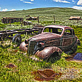 Bodie Ghost Town - Rusted Old Car 01 by Gregory Dyer