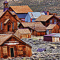 Bodie Ghost Town California by Garry Gay