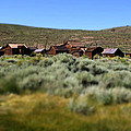 Bodie Ghost Town Landscape by Chris Brannen