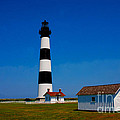 Bodie Island Lighthouse Outer Banks In North Carolina by Susanne Van Hulst