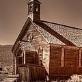 Bodie State Historic Park California Church by Scott McGuire