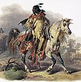 Bodmer: Blackfoot Horseman by Granger