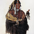 Bodmer: Young Mandan by Granger
