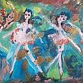 Bog Fairies by Judith Desrosiers