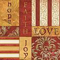 Bohemian Red Spice 1 by Debbie DeWitt