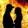 Bonfire by David  Rusch