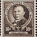 Booker T Washington Postage Stamp by James Hill