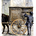 Bookmobile, 1860 by Granger