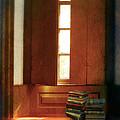 Books On A Window Seat by Jill Battaglia