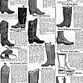 Boots Advertisement, 1895 by Granger