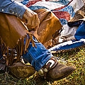 Boots And Quilt On The Trail by Toni Hopper