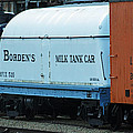 Bordens Milk Tank Car by Lauri Novak
