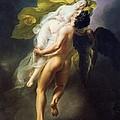 Boreas Abducting Oreithyia by Joseph Ferdinand Lancernon