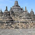 Borobudur Mahayana Buddhist Monument by Mark Taylor